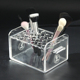 Acrylic Clear Square 10-24 Holes makeup Brush Holder