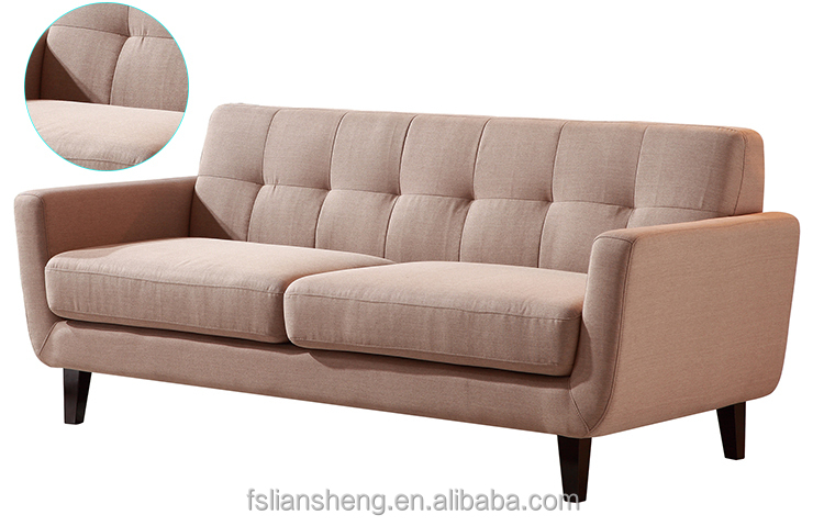 Fabric chesterfield sofa with crystals fabric tufted sofas for Modern style sofa