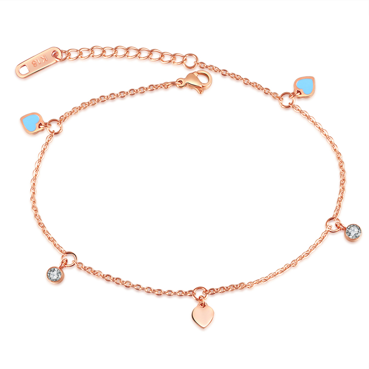 Anklets Silver Color Lead Pendant Tassel Anklets Bracelets Long Chain Multi-layer Ankle Summer Foot Jewelry Beach Chain Commodities Are Available Without Restriction Jewelry Sets & More