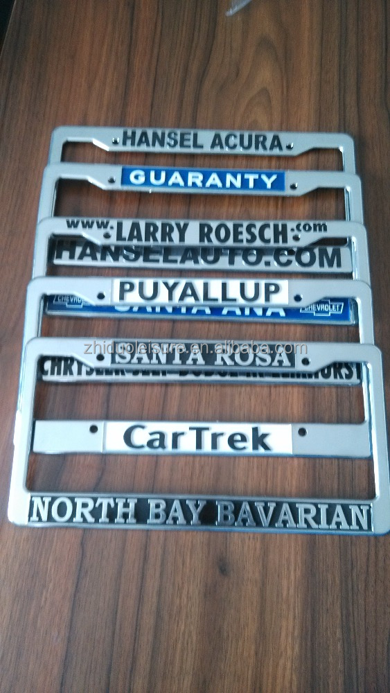 License Plate Frame, License Plate Frame Suppliers and Manufacturers ...