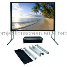 new 3232mm or 3264mm aluminum alloy fast fold projection screen