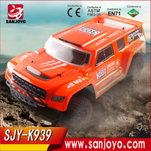 WL TOYS K939 Four Wheel Drive Speed Racing Car 4WD 2.4G Electric Rc Short Course Truck
