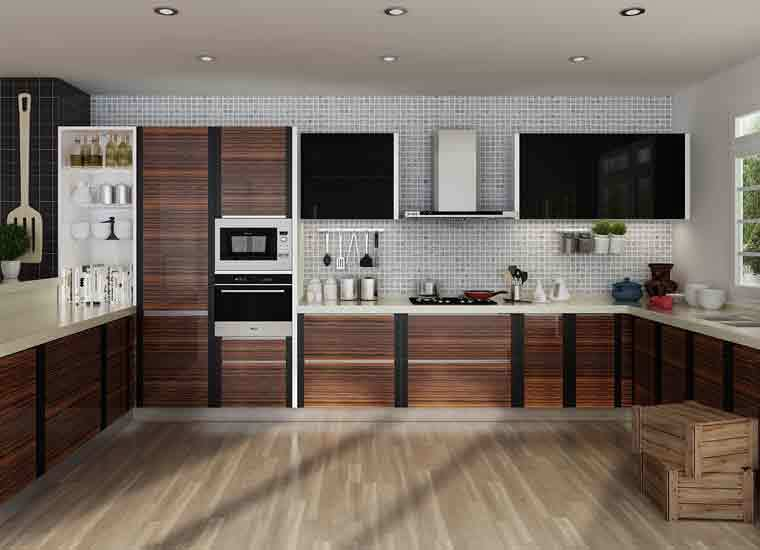 Kenya modular project affordable modern u shaped pvc for Kitchen cabinets kenya