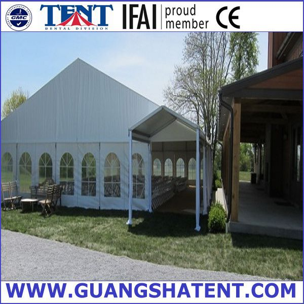 outdoor large wihte pyramid tent for wedding party and exhibition