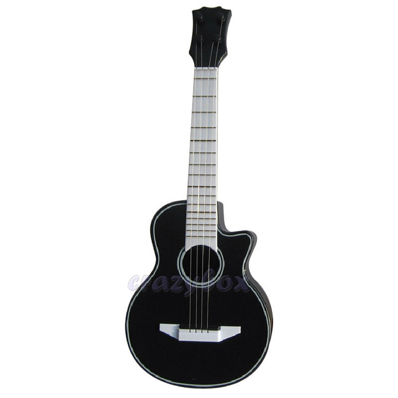 children 39 s musical instruments acoustic wood texture toy guitar 4 string mini small guitar baby. Black Bedroom Furniture Sets. Home Design Ideas