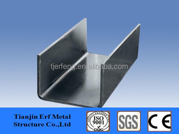 perfiles de acero galvanizado estructura u canal de