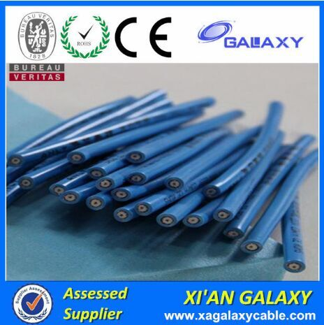 Aluminum Foil Shielding & Copper Coil Shielding High Temperature Resistant Single Conductor Heating Cable For Floor,Roof,Pipe