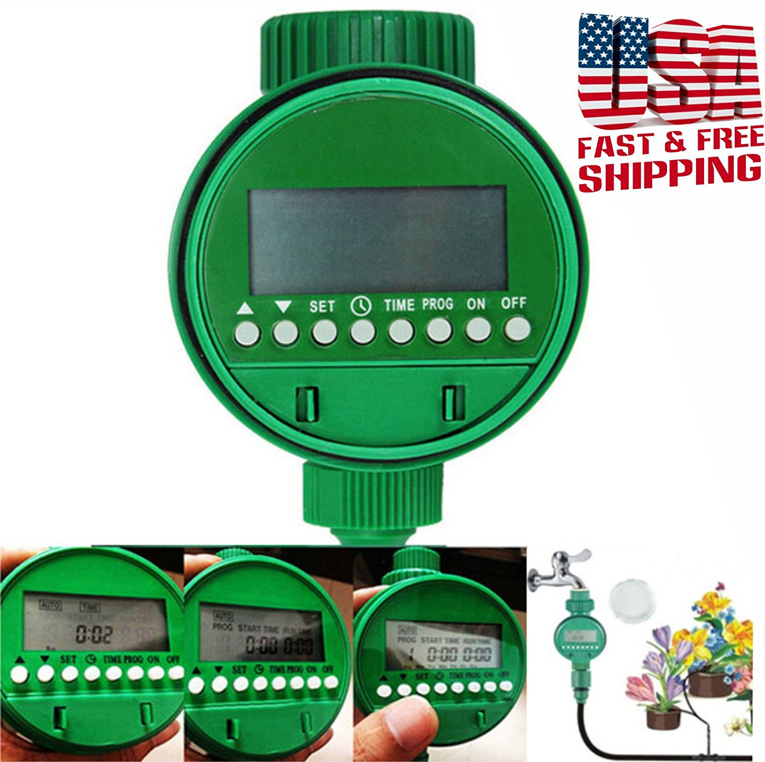 Automatic Watering Controller Timer Intelligent Flowers Water House Garden ,,#id(smartchoises (#ATOE26262572765880
