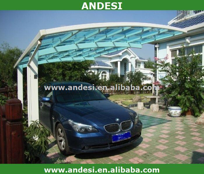 naungan tempat parkir mobil aluminium bahan atap garasi kanopi carports id produk 1844998409. Black Bedroom Furniture Sets. Home Design Ideas