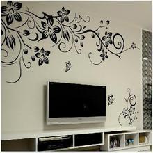 Hot DIY font b Wall b font Art Decal Decoration Fashion Romantic Flower font b Wall