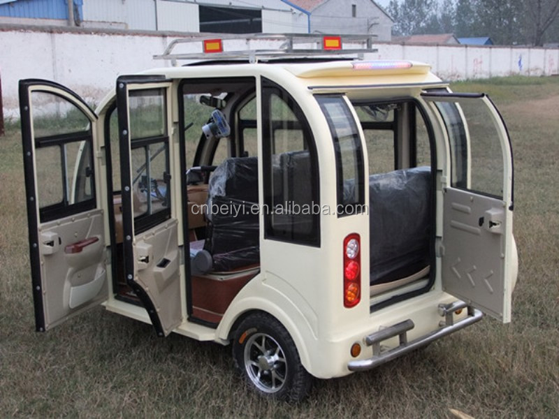 800w Enclsoed Passenger 1000w Electric Tricycle for sale
