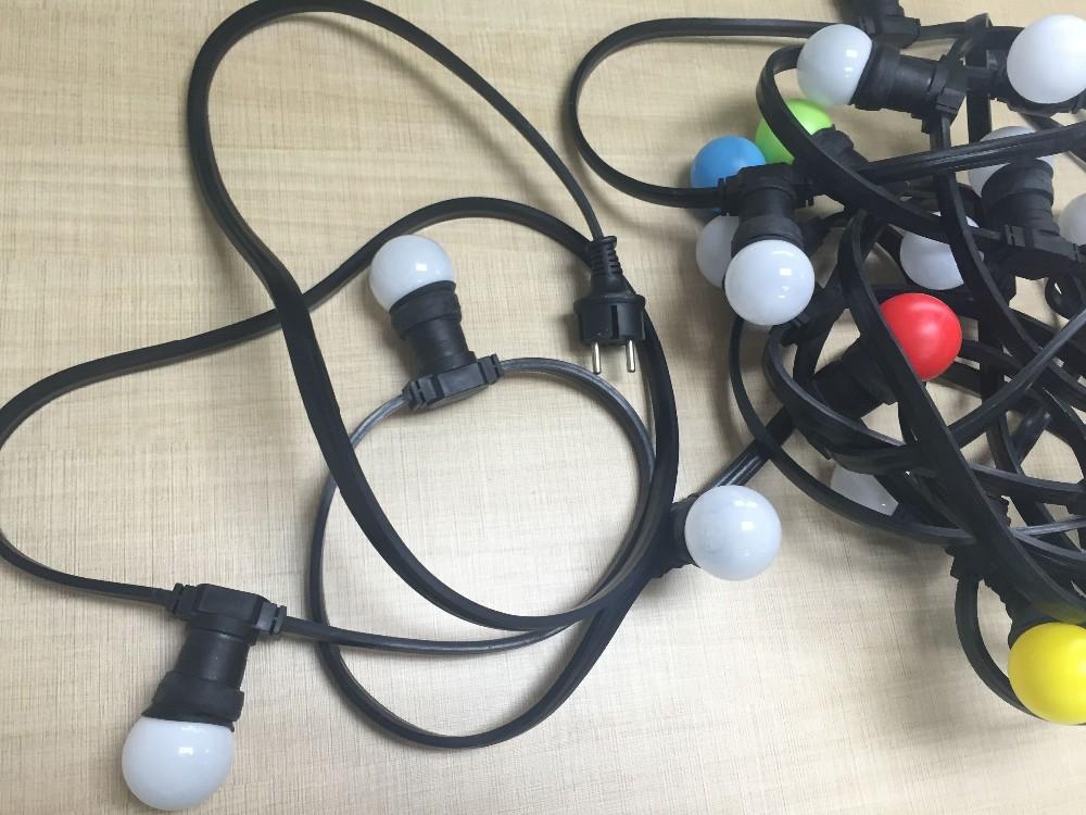 100m 250leds E27 Lamp Holder Led Festoon Bulb Belt String Light ...