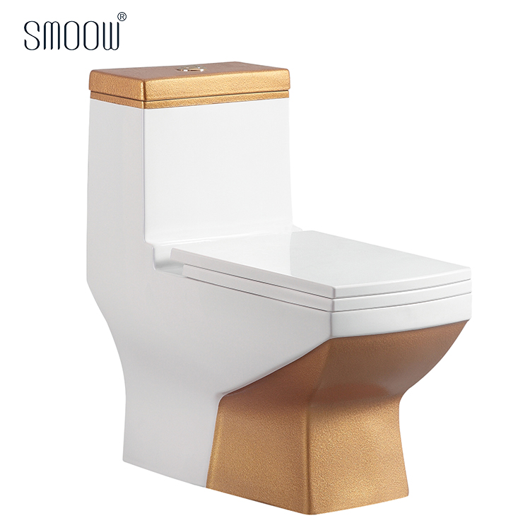 Admirable China Ceramic Sanitary Ware Square Golden Colored One Piece Toilet Bowl With Factory Price Buy Colored Toilet Golden One Piece Toilet Bowl Sanitary Inzonedesignstudio Interior Chair Design Inzonedesignstudiocom