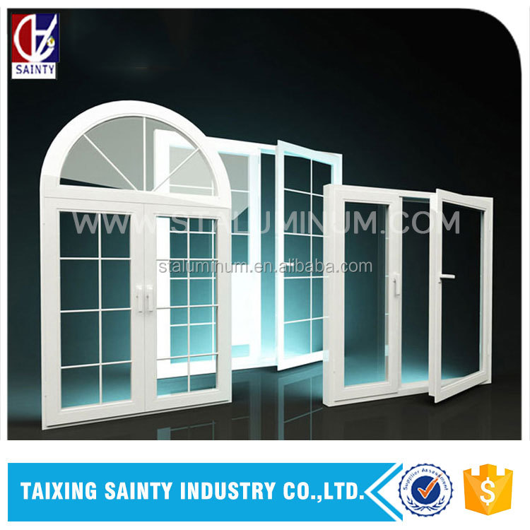 Supply aluminum sliding door and different quality levels to choose aluminum or UPVC