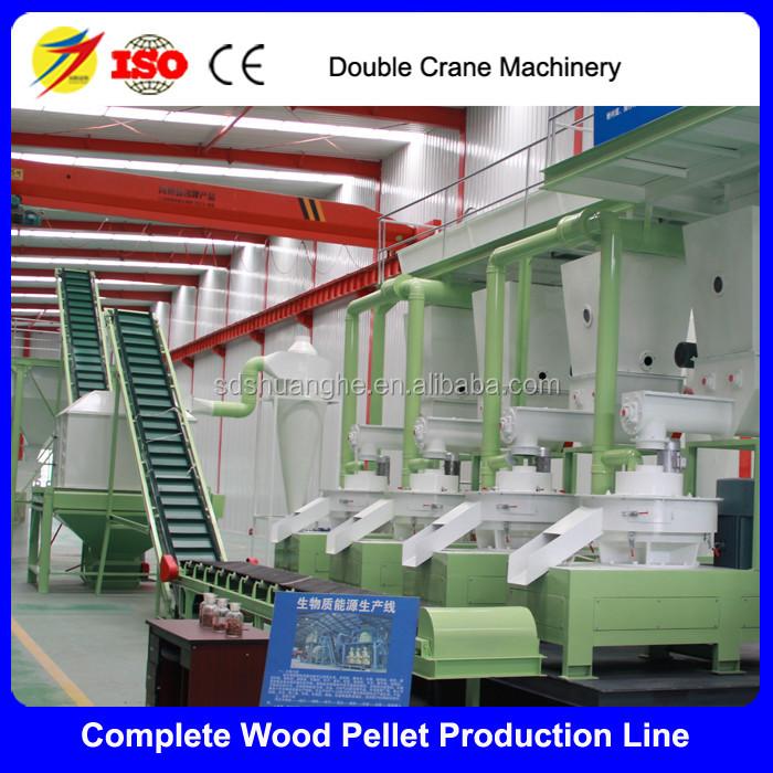 German technology wood pellets making machine tph