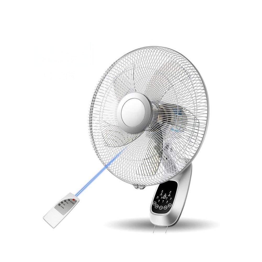 FH Wall-mounted Electric Fan Restaurant Mute Home Wall Fan Wall-mounted Industrial Remote Control Shaking Head 16 Inch Wall Fan