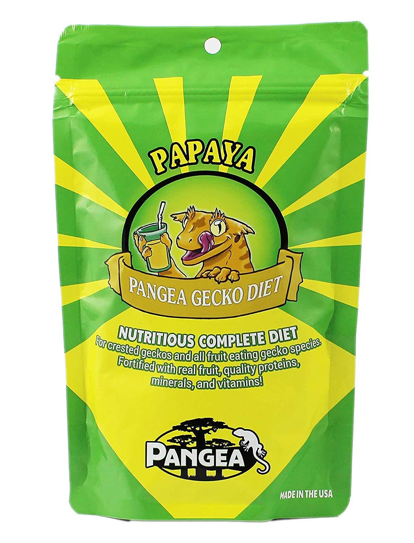 Pangea Banana/Papaya Fruit Mix Complete Crested Gecko Food 1 lb