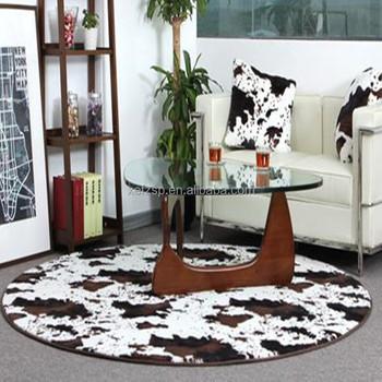 Amazing polyester faux fur koeienhuid vloerkleed - Tappeto mucca ikea ...