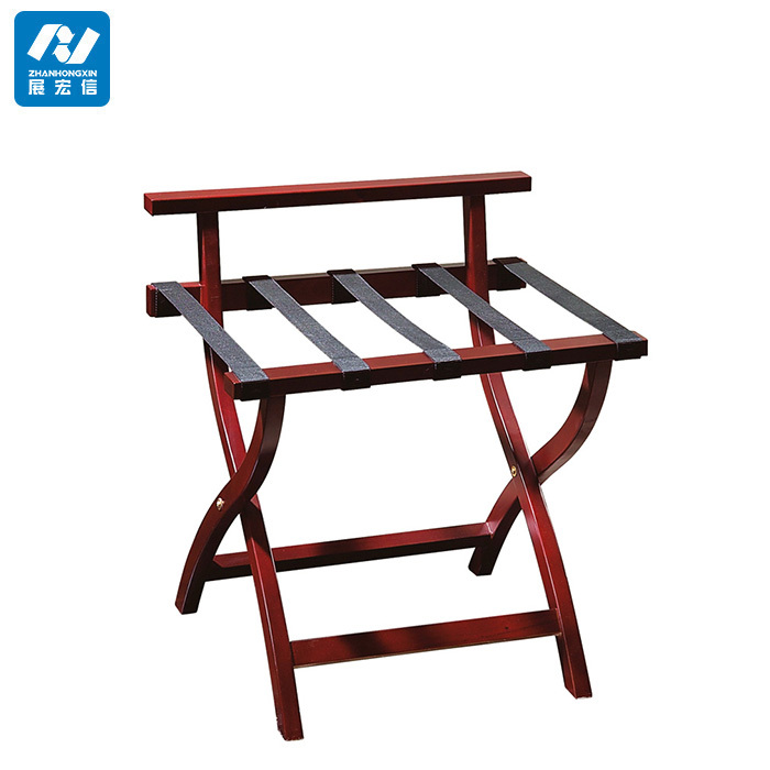 Hotel Folding Wood Luggage Rack Luggage Stand Luggage Racks