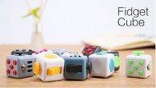 2016 Best Christmas Gift Stress Release Magic Fidget Cube 3.3cm Desk Fidget Cube Toys puzzle cube