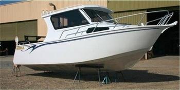 Hot sale 25ft cuddy cabin aluminum boat cabin boat buy for Aluminum boat with cabin for sale
