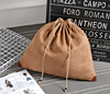 custom printed suede dust bag for handbag