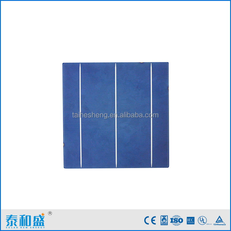 17.6% high efficiency polycrystalline solar cells 156mm