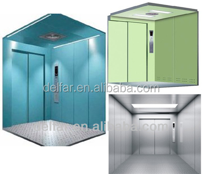 Electric Machine Room-less Freight Elevator/Cargo Lift