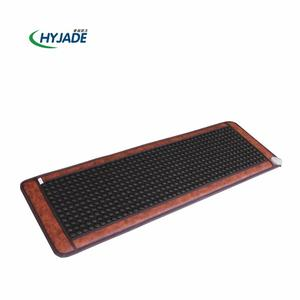 similar heating thermal jade and tourmaline massage mat for bed