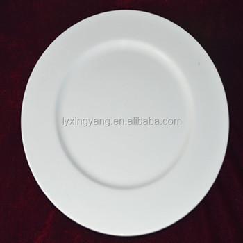 White ceramic plates bulkcheap ceramic plain white plate & White Ceramic Plates BulkCheap Ceramic Plain White Plate - Buy ...