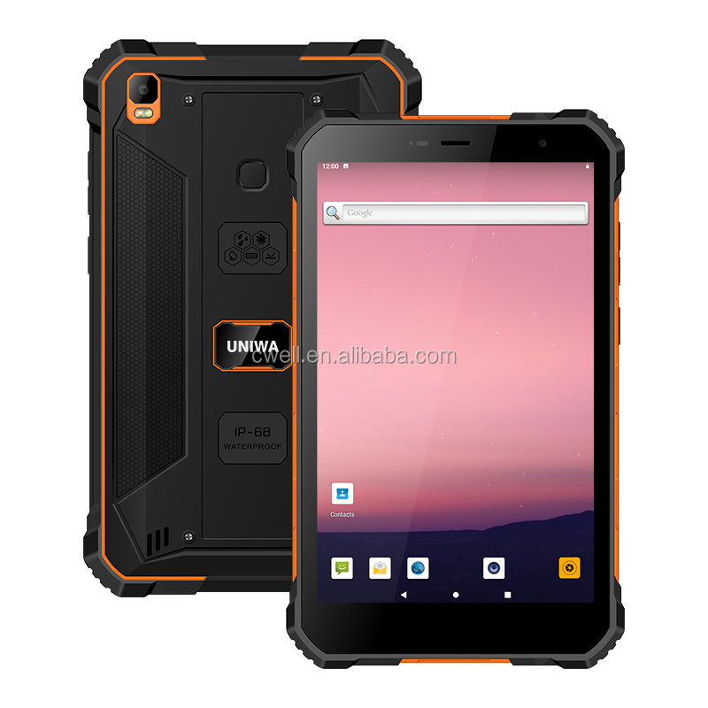 UNIWA T88 MT6765 Octa Core 8 inch Cheap IP67 Rugged Tablet Android 9