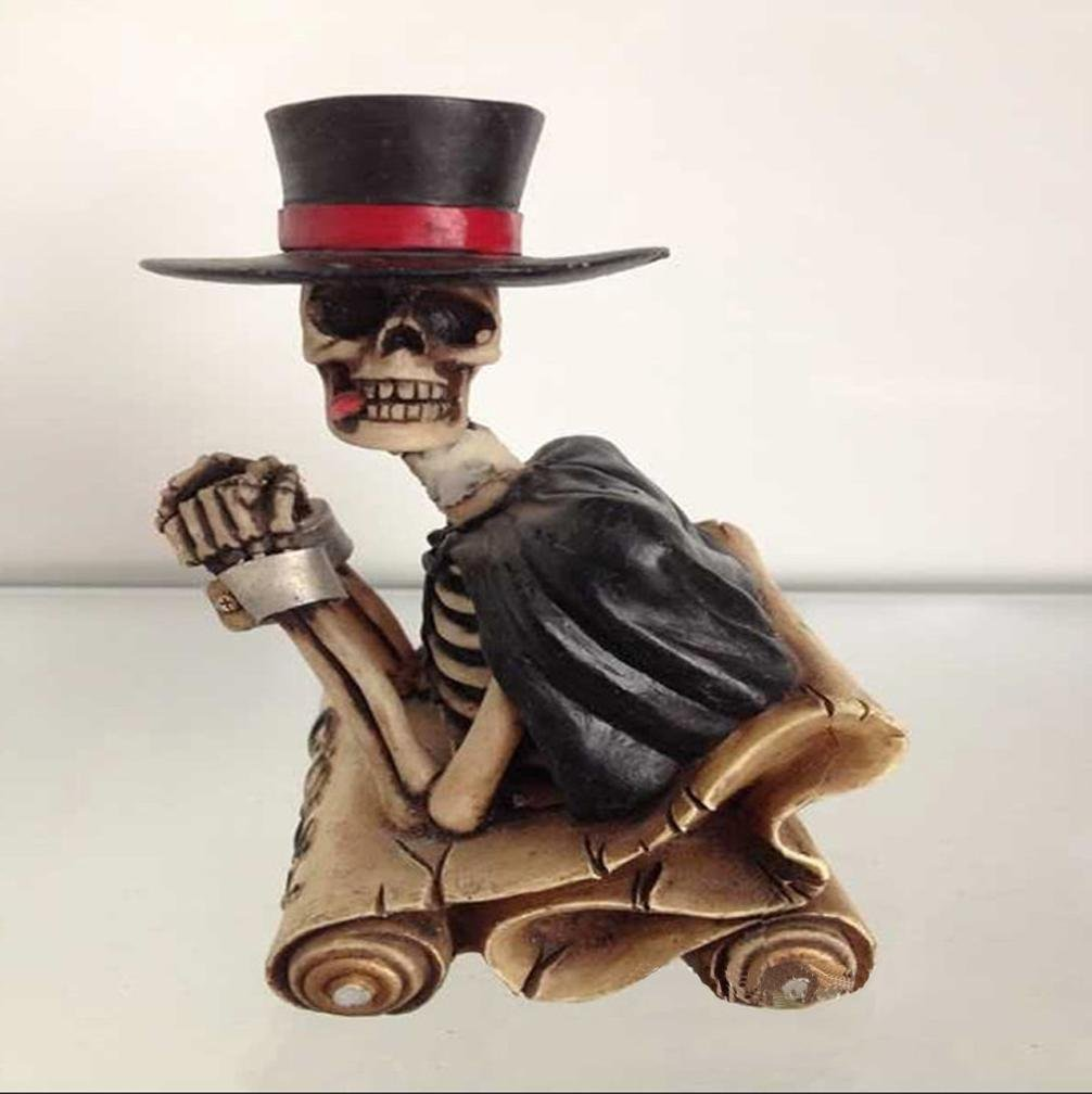 W&P Resin decorations Halloween crafts horror dolls resin Devil wet/dry