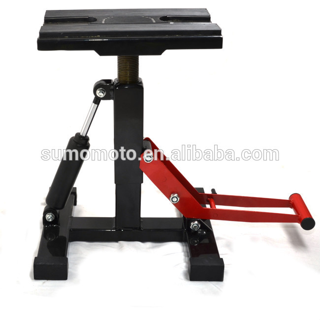 Cheap Adjustable Damping Hydraulic Moto Stand For Dirt Bike Lift