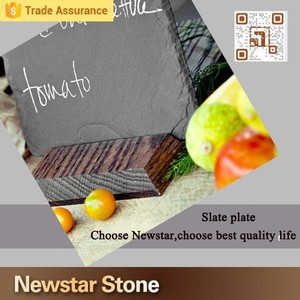 stone slate cheese cutting board set