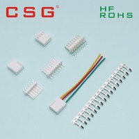 2.54mm Pitch single row car battery cables and connectors