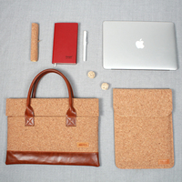 Have you see the Wooden bag? The laptop bag briefcase made by Cork Laptop sleeve Tablet case 11 12 13 14 15 inch available
