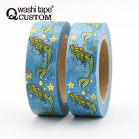 New design custom printed Mermaid Washi Tape