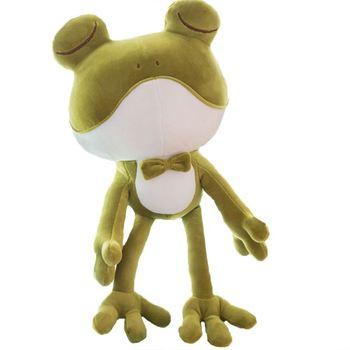 Plush Toy Green Frog Doll Valentine S Day Birthday Promotion Gift Eyes Animal