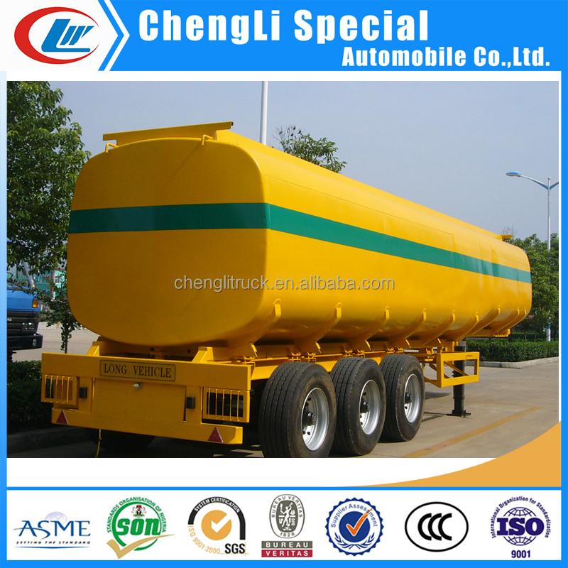 Soybean Oil 40000liters Fuel Tanker Trailer Peanut Oil 45000 ...