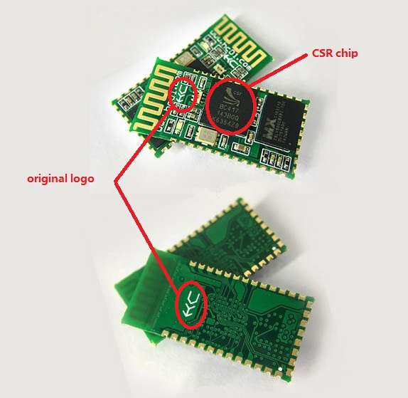 SMD HC-06 HC 06 master and slave wireless communication serial blue tooth module with original CSR chip