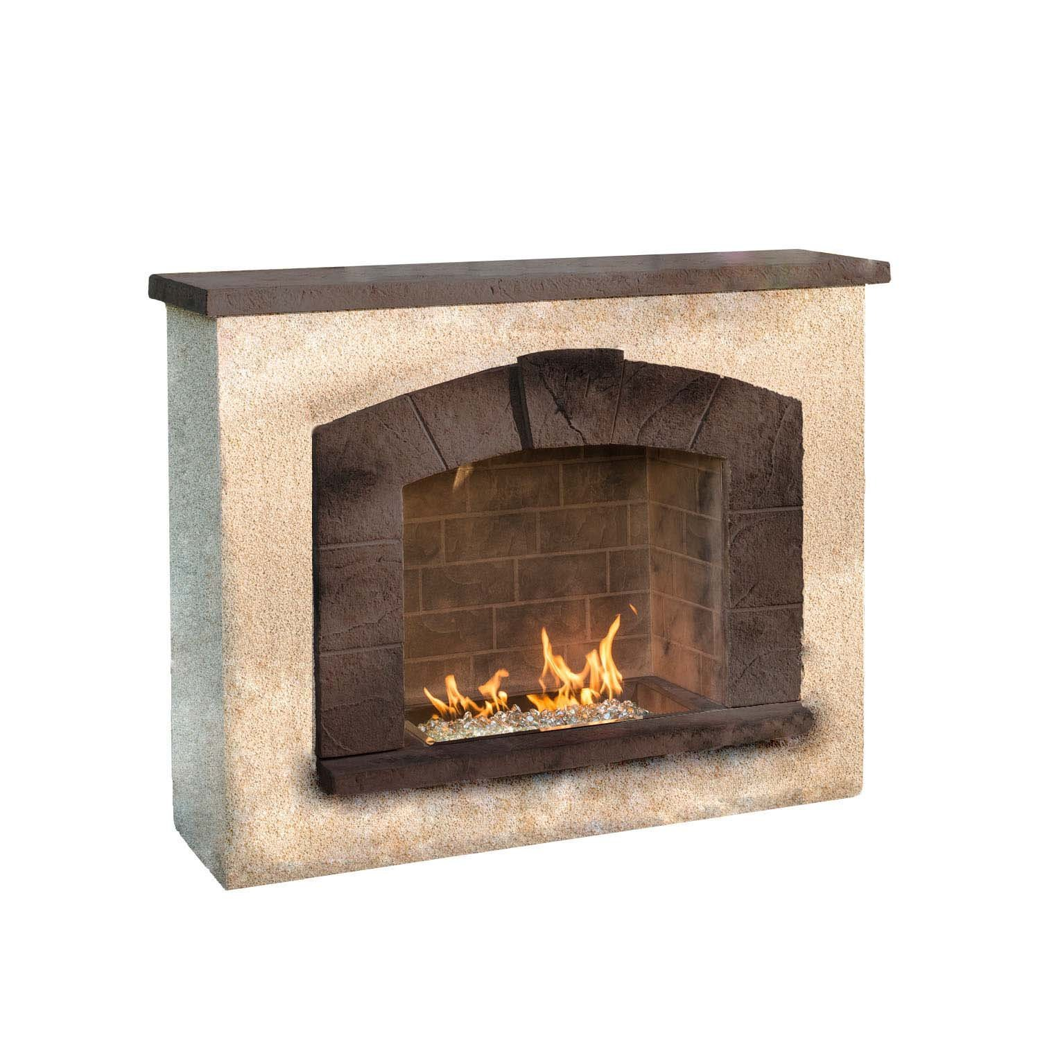 wood gas stone dark design firepalce veneer with stones natural mantel fireplace home