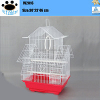 2016 new pet products wire mesh cool bird cages