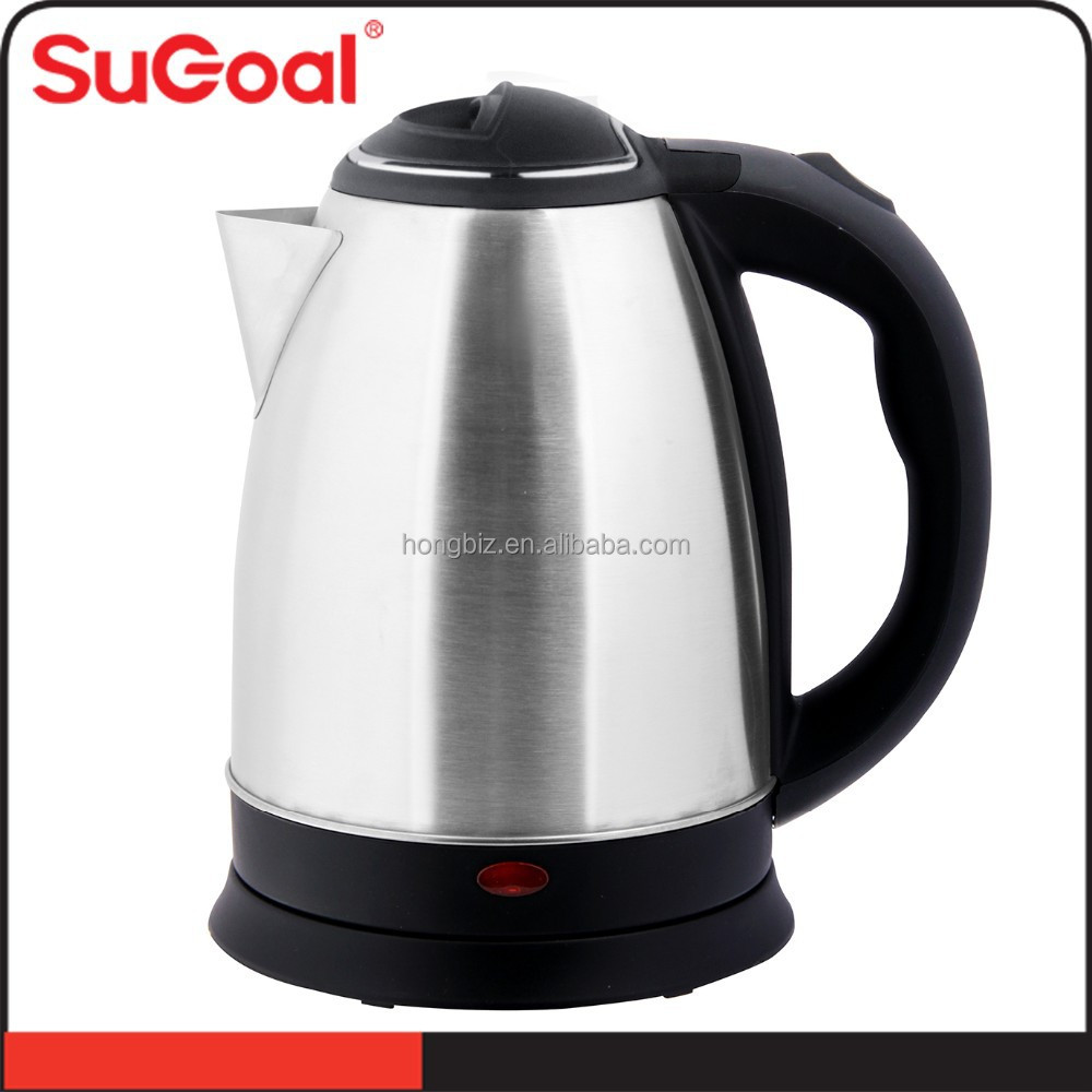 2015 home appliances new stainless steel water heater electric kettle