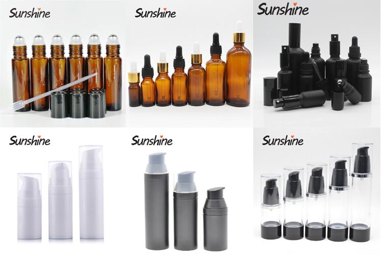 Luftlose kosmetische Schaumstoffpumpe der Qualitätsflaschen 50ml Lieferant