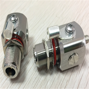 top quality Gas Tube male female wire connector 0-6GHZ SMA male to female cable protector Lightning Protector rf surge arrestor