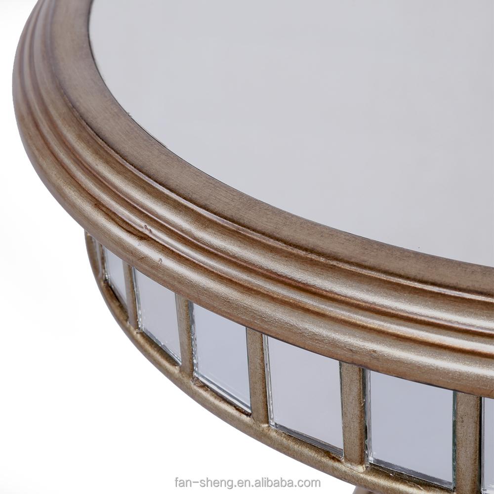 Europese antieke meubelen rococo stijl post kleine ronde tafel ...