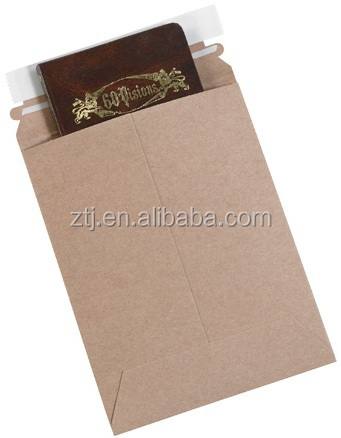 18pt stay flat rigid Mailer Chipboard docuemnt mailer