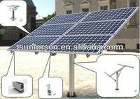Installed-the Australia ground solar mounting system & solar ground mounting bracket manufacturer 2KW