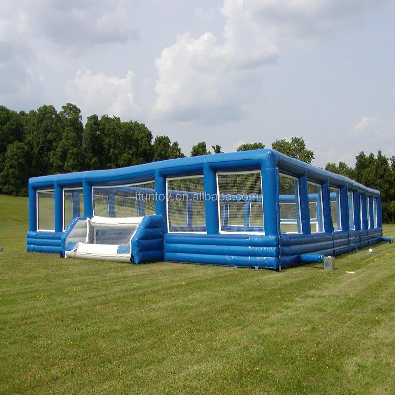 2018 soccer field inflatable football court/ inflatable soap foosball field/inflatable soap soccer cup
