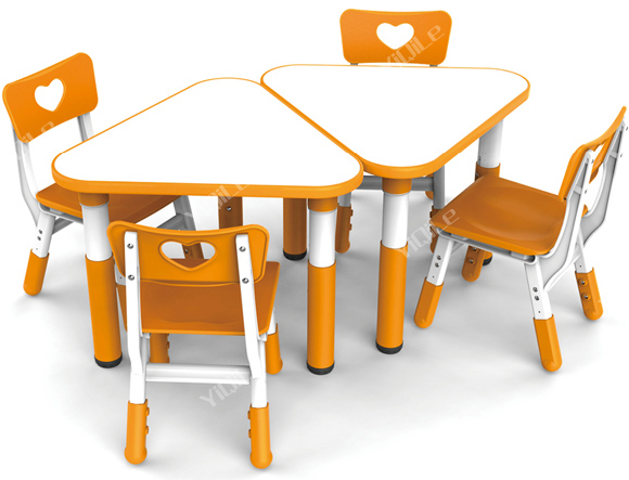 2016 Yiqile New Design Preschool Table And Chair Suit For
